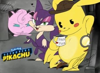 Detective Pikachu by fnafmangl