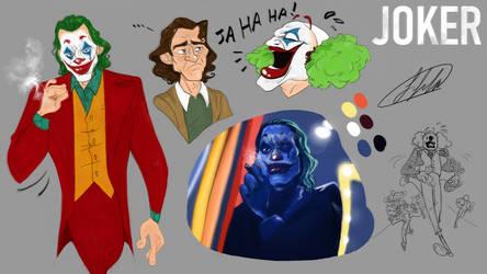 Joker 2019 doodles by fnafmangl