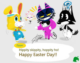 Happy Easter by fnafmangl