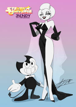 Bendy and Dolly in Steven Universe