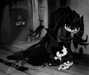 Bendy in: i am you and you are me