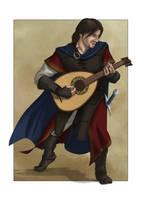 Galahan - The Bard by GustavoMalek