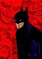 Shadows of the Bat. by Arioanindito