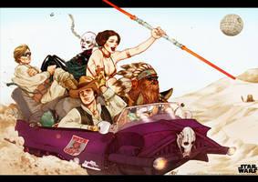 the Bounty Hunters. by Arioanindito