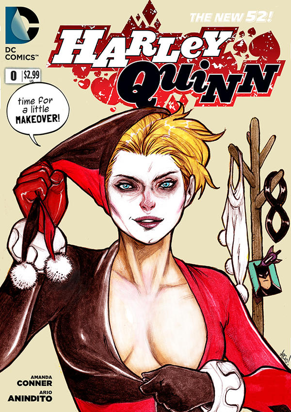 Faux Harley Quinn cover. by Arioanindito