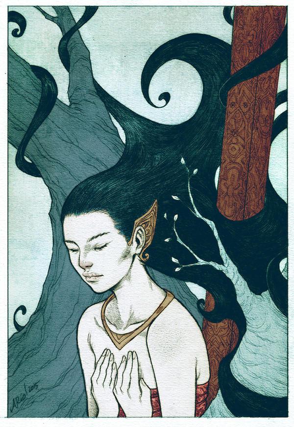 Nadira. by Arioanindito