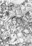 Alice in Wonderland..