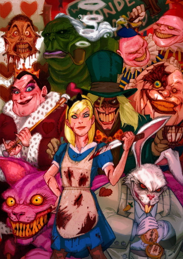 Alice Colored -new version- by Arioanindito