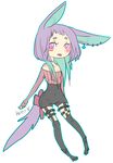 Pastel-goth Adoptable [Sold]