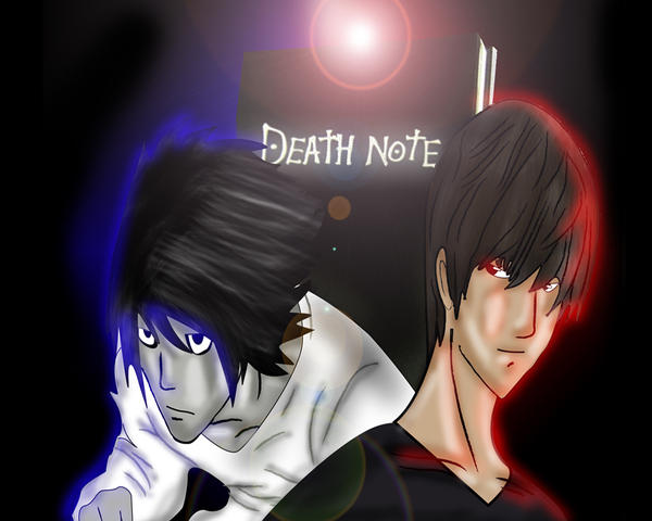 http://fc02.deviantart.net/fs19/i/2007/300/5/6/Death_Note_Wallpaper_Kira_vs_L_by_PaulVincent.jpg