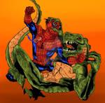 Spidey vs Lizard Color