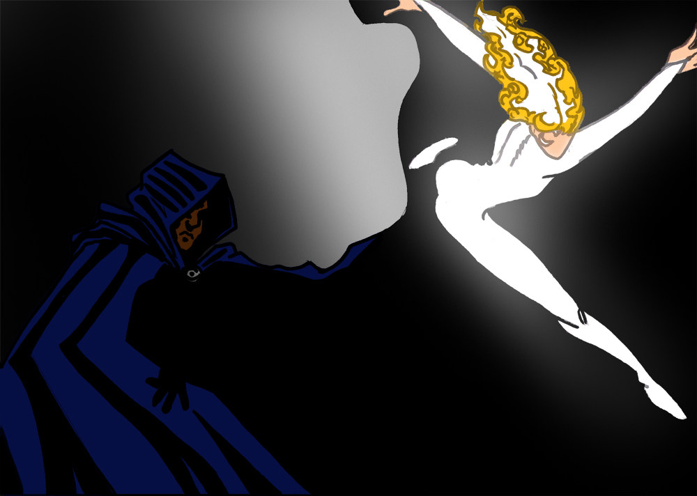 Cloak And Dagger Minimal By Diablozzo On DeviantArt