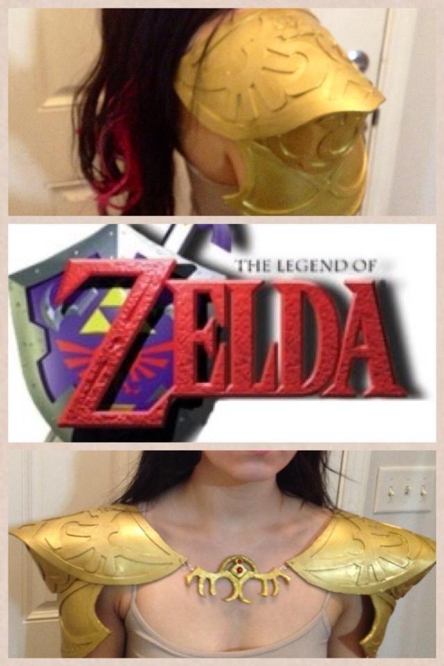 Zelda Armor cosplay by Javdaneh