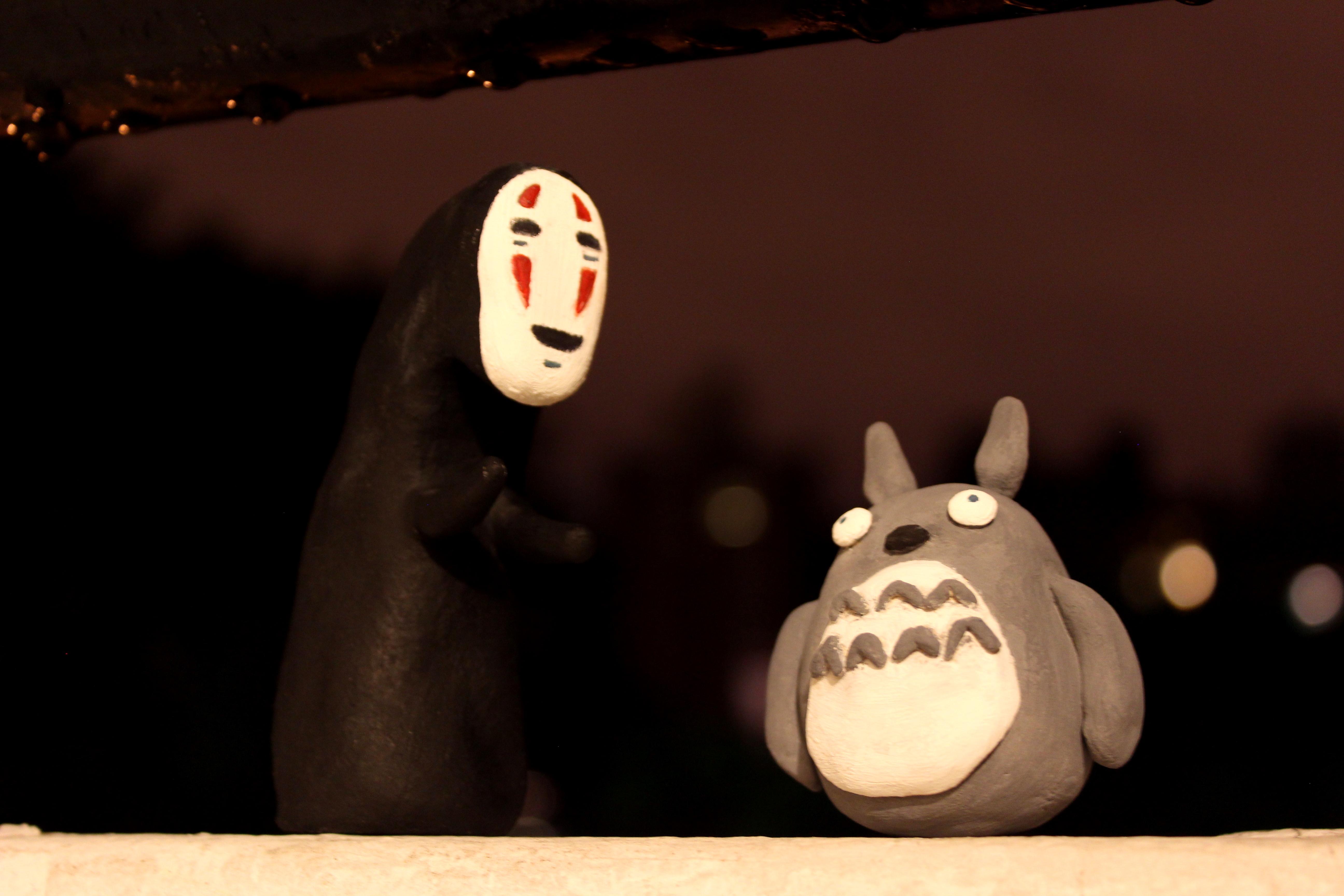 Totoro - Kaonashi (No Face) by westwo0d
