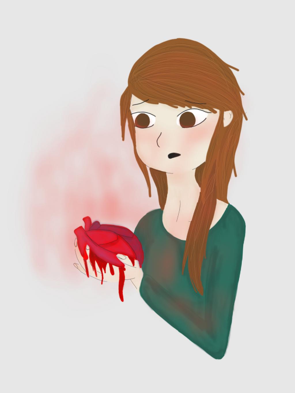 Damaged Heart by LizzyDuffy
