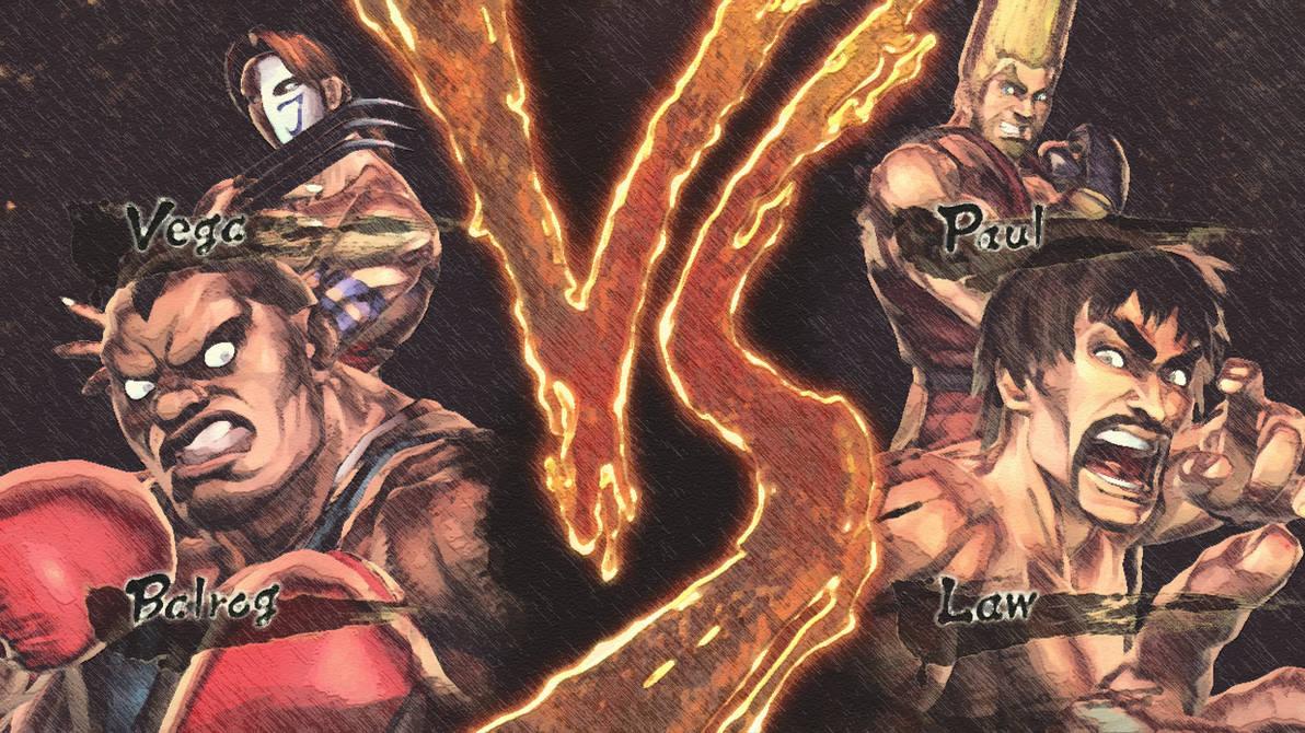 Street Fighter X Tekken Vs Screen By Intuitive2011 On Deviantart