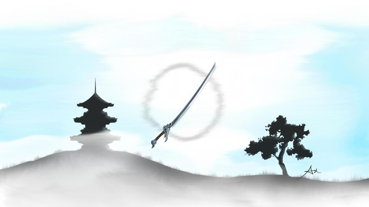 Teste. Yasuo_s_katana_by_namesash-d6zocci