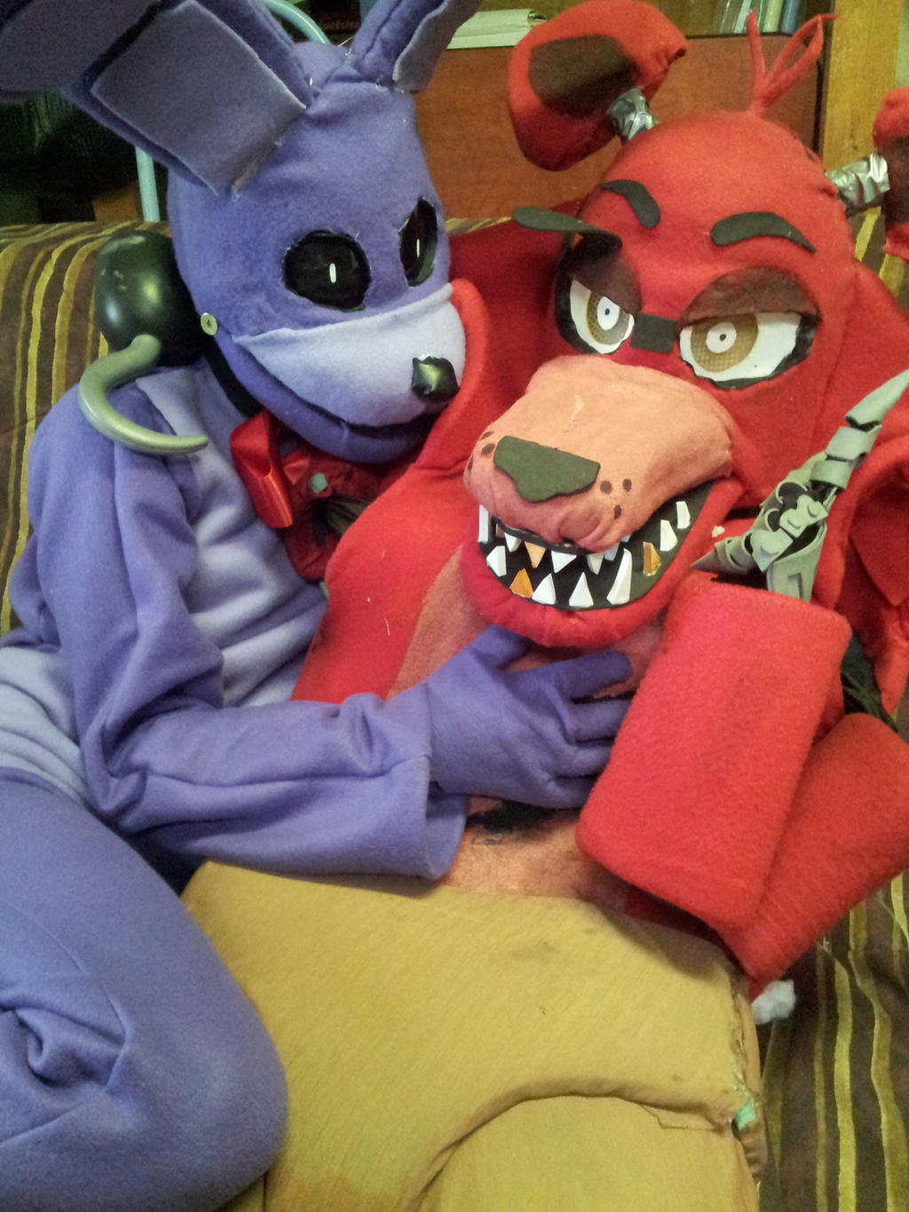 Fnaf bonnie costume for sale - Bonnie And Foxy Fnaf By Foxytwerkbutt Bonnie And Foxy Fnaf By Foxytwerkbutt