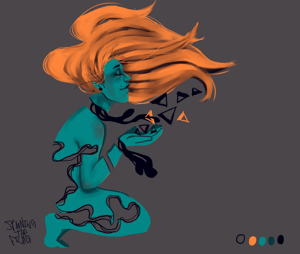 Paint Color Palette Thing by spooningthefrog