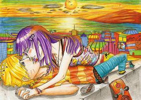 NaruHina - An another life by Bandico