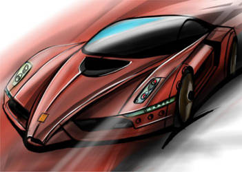 Ferrari by ionutalbu