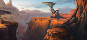 Alien canyon