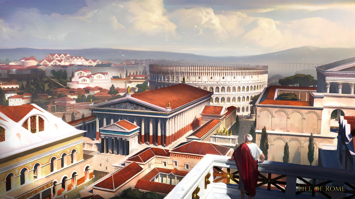 Life of Rome Illustration by ARTek92