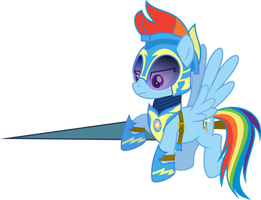 ED: Rainbow Dash, Sky Lancer by RuinedOmega