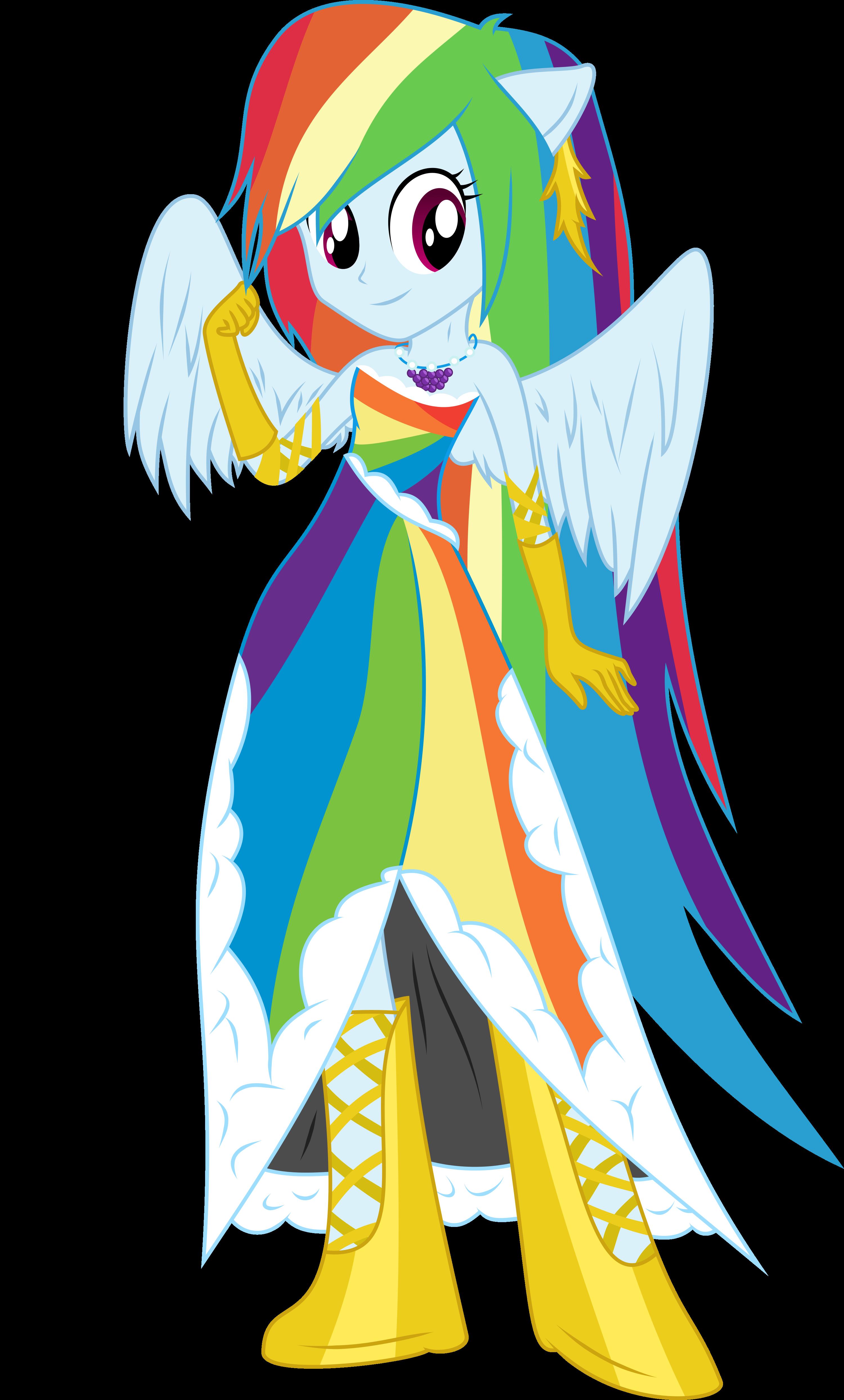 rainbow dash gala dress - photo #3
