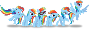 Colors of the Rainbow(Dash)