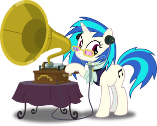 Olde Timey Musical Pone by RuinedOmega