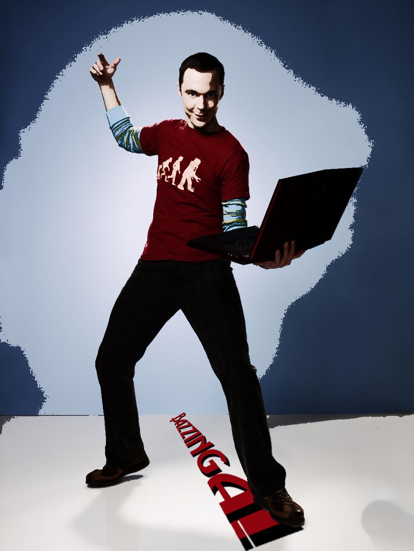 Sheldon Cooper Bazinga Poster