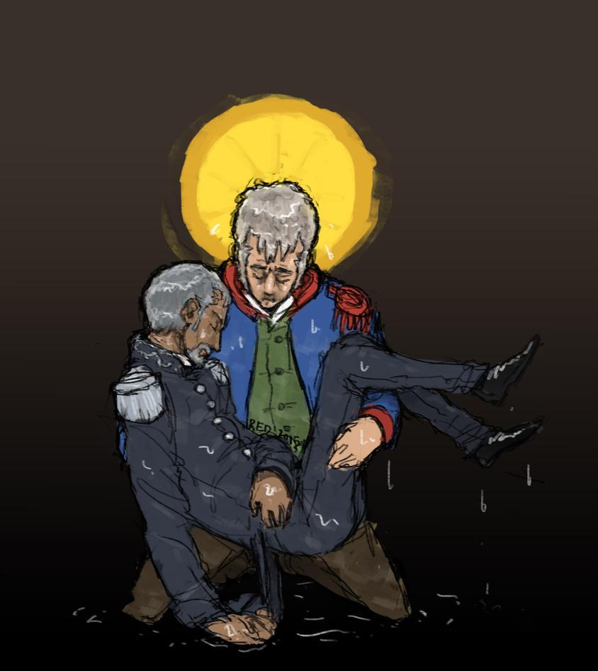 Vslvert Pieta by ExtremlySelfishChild