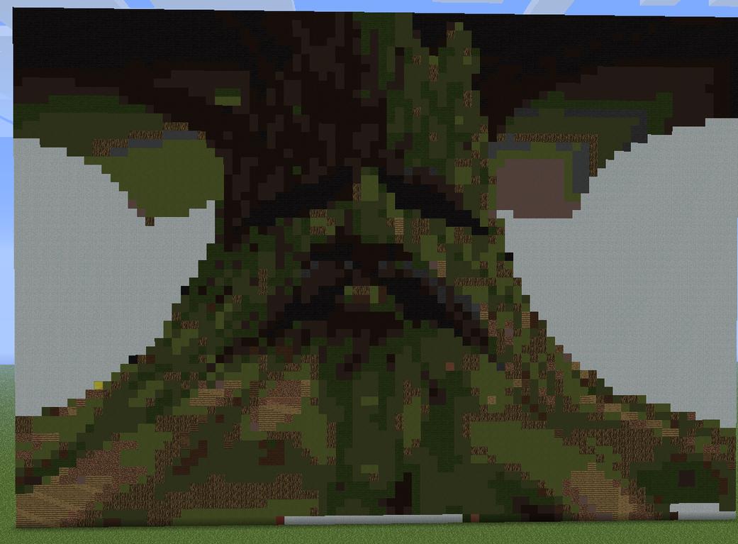 Дерево майнкрафт