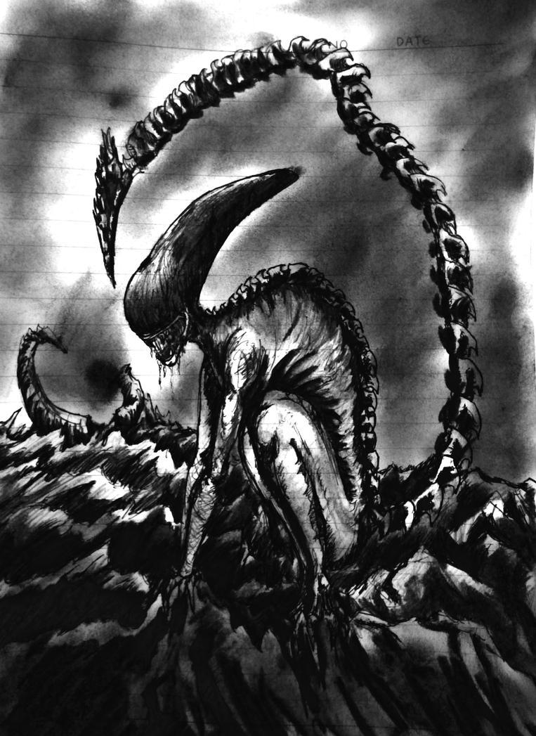 Alien by ElveinAC