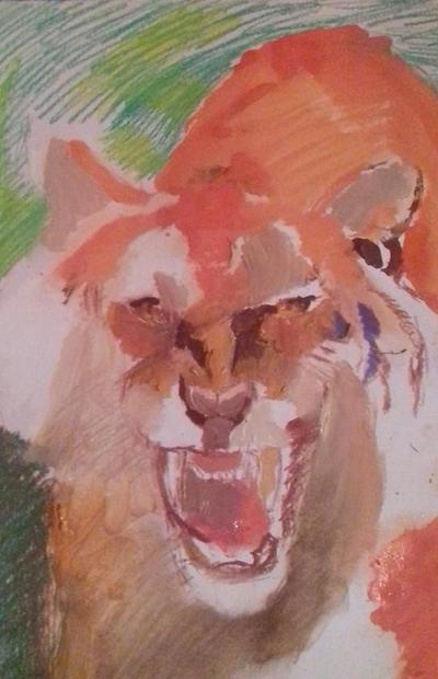 Tiger wip by Waspdrake