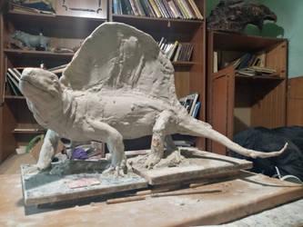 Dimetrodon teutonis WIP by Waspdrake