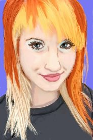 Hayley Williams in Cartoon by stargirl141