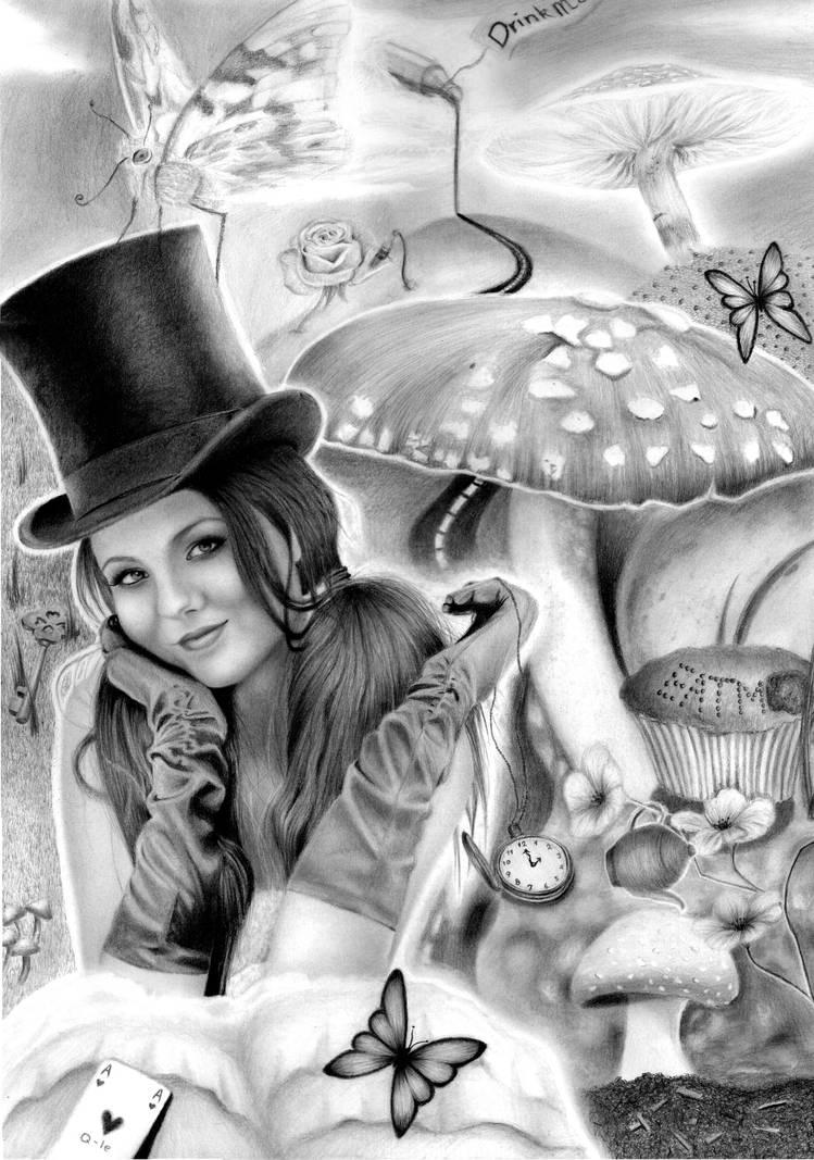 Victoria in Wonderland
