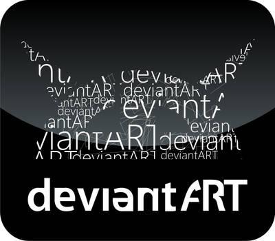 deviant logotype by looneylunatic