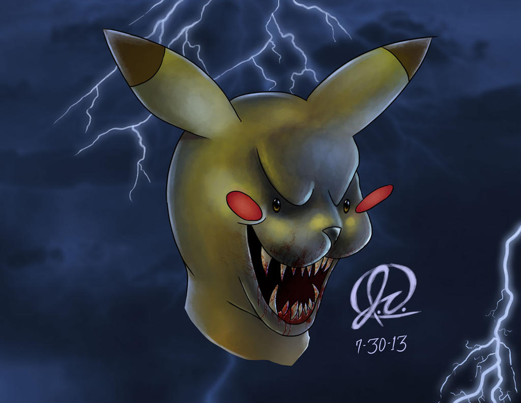 evil pikachu wallpaper - photo #3