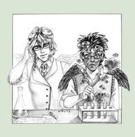 Point comm: Inge and Romeu by kiko-burza
