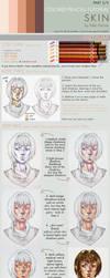 Colored pencils tutorial SKIN part 2 - MEDIUM by kiko-burza