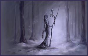 Secret Santa '15: Snow Witch by kiko-burza