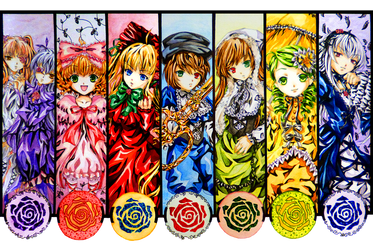 Commission: Rozen Maiden by kiko-burza
