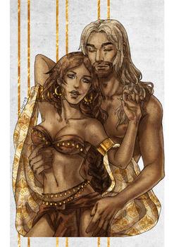 Commission: Farah and Samuel