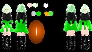 [TCCP Character] Uo Cheria by YumikoHart
