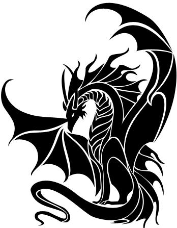 Dragon Tribal by Dark-Vulpes