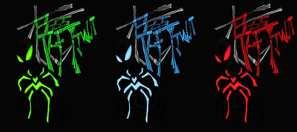 big time spider man blue - photo #21