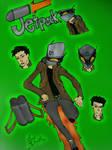 [OC HERO] Jetpack by BOSSTHITIWUT